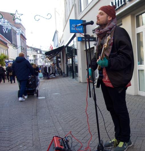 Busking in Odense,DK